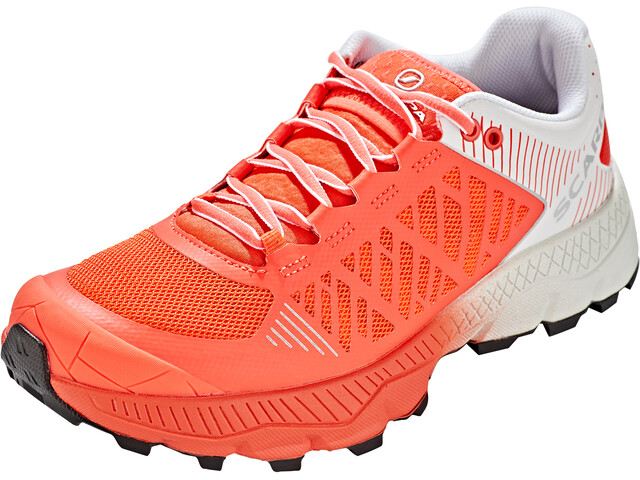 Scarpa Spin Ultra Schoenen Dames, bright red/white